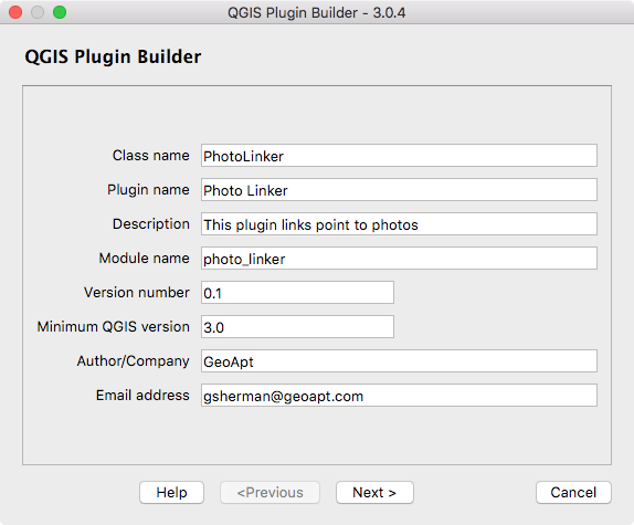 QGIS Plugin Builder — QGIS Plugin Builder 3 0 x documentation